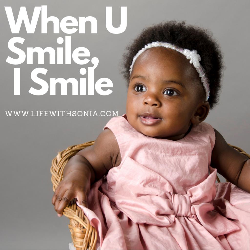 When U Smile, I Smile