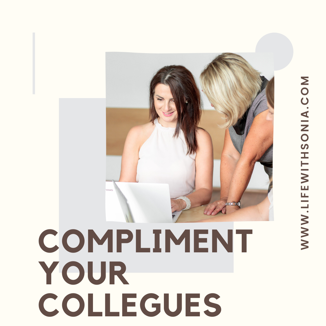 Compliment Your Colleagues